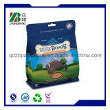 Sac de empaquetage en plastique estampé par coutume d'aliment pour animaux familiers