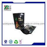 Bolsos de café de la laminación con la cremallera