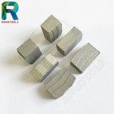 Segments de diamant de qualité pour le sablage / calcaire / granit / coupe de marbre