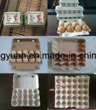 Papiermassen-Ei-Karton-Tellersegment, das Maschine herstellt