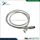 ばねとのUSB 2.0 a/Maleへの金属のシェルのタイプC USBのデータケーブル