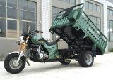 2トンの二重後部タイヤが付いている重いローディングの貨物三輪車