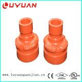 La reducción de la abrazadera concéntrica para la unión de tuberías
