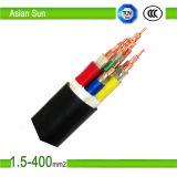 Изолированный кабель PVC/XLPE электропитания низкого напряжения тока