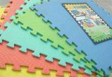 Esteiras Eco-Friendly do enigma da espuma de EVA que cortam letras e telhas dos números para os miúdos que aprendem o assoalho