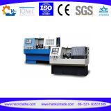 2개의 축선 CNC 수평한 편평한 침대 선반 기계 Cknc6140