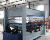 合板のコアのシラカバを押す熱い出版物木製作曲家の木製の働く機械
