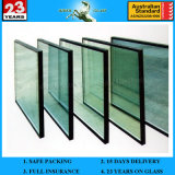 5-6mm Customized Glass Insulated Glass Low E double Curtain barrier