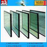 5-6mm hanno personalizzato la doppia parete divisoria bassa di vetro isolata vetro di E
