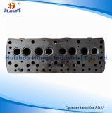 車は日産SD23 SD25 11041-29W01 11041-09W00のためのシリンダーヘッドを分ける