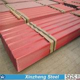 El color cubrió el material de material para techos de acero galvanizado acero de la azotea de Ibr 0.16mm-1.2m m