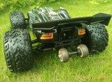 Carro elétrico da escala RC da velocidade rápida do chassi 4X4 2.4G do metal da potência 1/10th sem escova