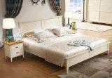 固体木のベッドの現代ダブル・ベッド(M-X2318)