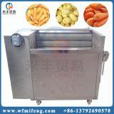 De Machine van de Schil van de Was van het Wortelgewas van het Type van Borstel van het roestvrij staal