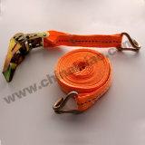 """1"""" оранжевого цвета полиэстера с храповым механизмом крепления строп храповой механизм крепления"""