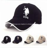 昇進の100%年の綿は刺繍のロゴの帽子の野球帽をキャップする