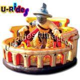 子供のための膨脹可能なコンボの城の警備員