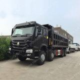 모잠비크에 Sinoauto 50 톤 12 짐수레꾼 덤프 트럭 수출