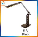 Lampe moderne de Tableau du chevet DEL de détecteur de contact de Dimmable avec le calendrier d'affichage à cristaux liquides