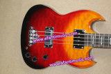 Mahagonikarosserie u. Stutzen/Afanti elektrische Gitarre (ASG-524)