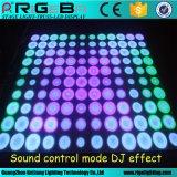61X61cm de LED do painel da parede dinâmico de Dança para o Estádio da Luz de efeito de DJ