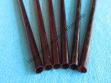 Tubo de cuarzo tubo de cristal de cuarzo rojo rojo oscuro del tubo de cuarzo (HKQT-055)