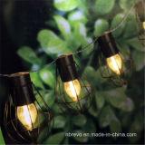 Im Freien hängende LED-angeschaltene Birnen-Rahmen-Zeichenkette-Solarlichter (RS1007)