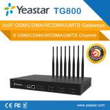 Yeastar 8 GSMポートSIMのカードSMS VoIP GSMのゲートウェイ(NeoGate TG800)