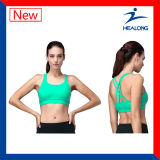 販売のための100%年の綿のセクシーな女性ブラに着せるHealongの新しいデザイン