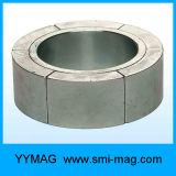 Magneti del rotore del motore del generatore dell'arco del neodimio N38h di sinterizzazione