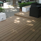 CE Aprovado Outdoor Composto WPC Decking Timber Flooring