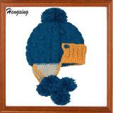 Bonnet tricoté Casquette de baseball avec un haut Chapeau tricoté à billes