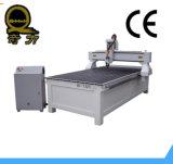 Hölzernes Maschinen-Ausschnitt-Furnierholz, das Drehholz CNC schnitzt Maschine schneidet