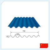 屋根ふきおよびクラッディングのための波形の金属板