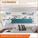 Diseño sencillo moderno Mobiliario de casa de madera sólida mueble de cocina