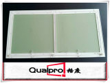 Dekorative Wand-Zugangsklappe mit Aluminiumprofil AP7710
