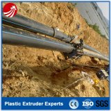 Ligne en plastique d'extrusion de conduite d'eau de polyéthylène