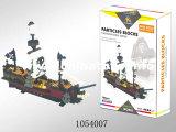 Хороший строительный блок корабля пирата игрушки Quanlity (1054007)