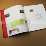 Impresión del libro infantil de la impresión del libro de Hardcover