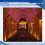 En acier inoxydable de haute qualité pour la décoration de la plaque gravée