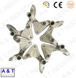 ステンレス鋼またはアルミニウムまたは真鍮またはステンレス鋼を機械で造っているOEMは機械部品を造った