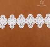 Очаровательная швейцарского хлопка Voile кружевной вышивкой