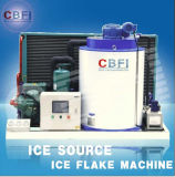 Aire Cooled Flake Ice Machine para Supermarket
