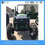 55HP 4WD Granja / Agrícola / Compact / Mini / Césped / Pequeño / Diesel Tractor con llantas de arroz