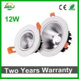Buena MAZORCA blanca LED Downlight de la calidad 12W AC85-265V