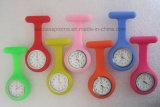高品質のカスタム看護の壊中時計のシリコーンの看護婦の腕時計