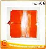 Verwarmer 310*310*1.5mm van de Printer van het silicone 3D 230V 500W de Rand van de Besnoeiing