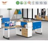 Poste de travail en bois modulaire de meubles modernes pour le bureau (H90-0210)