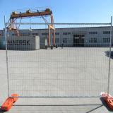 240cm x 210cm電流を通された鋼鉄一時塀のパネル