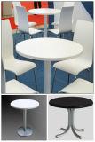 Últimos diseños de la mesa de comedor alto brillo mesa de restaurante